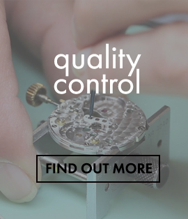 Quality Control on watches